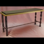 1/4 Turn Oak & Walnut Bench or Table
