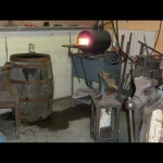 Gas forge