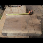 Making the rough wood outline