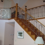 Stair Railing with Celtic Knot 2